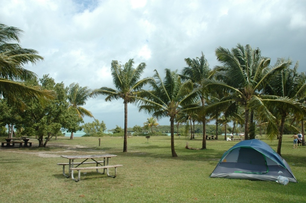 Biskayne campsite