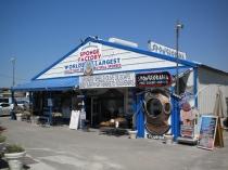 Spongeorama's Sponge Factory, 510 Dodecanese Boulevard, Tarpon Springs, Florida. Photograph taken April 01, 2010.